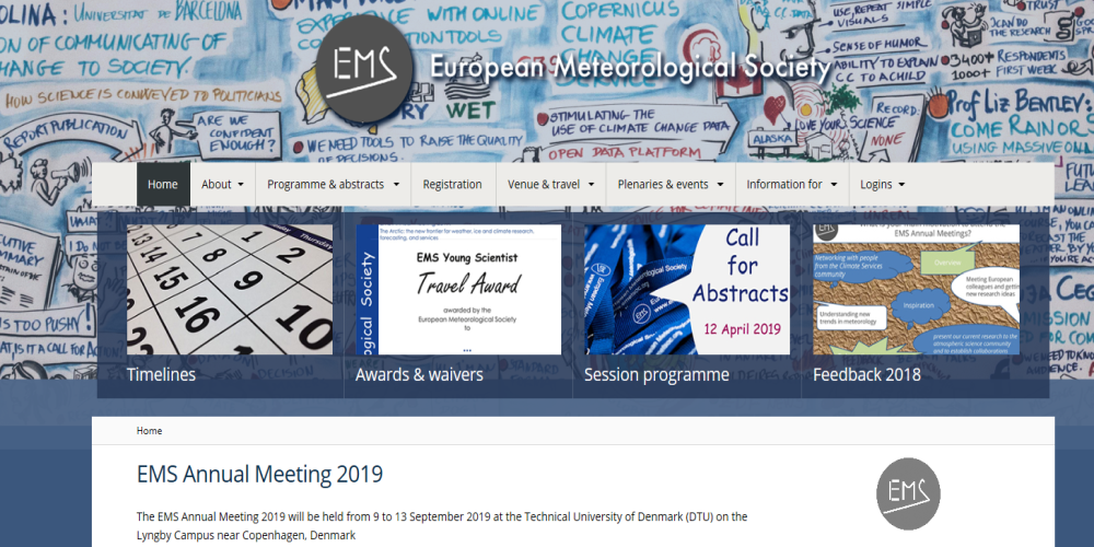 A new EUMETSAT session at the European Meteorological